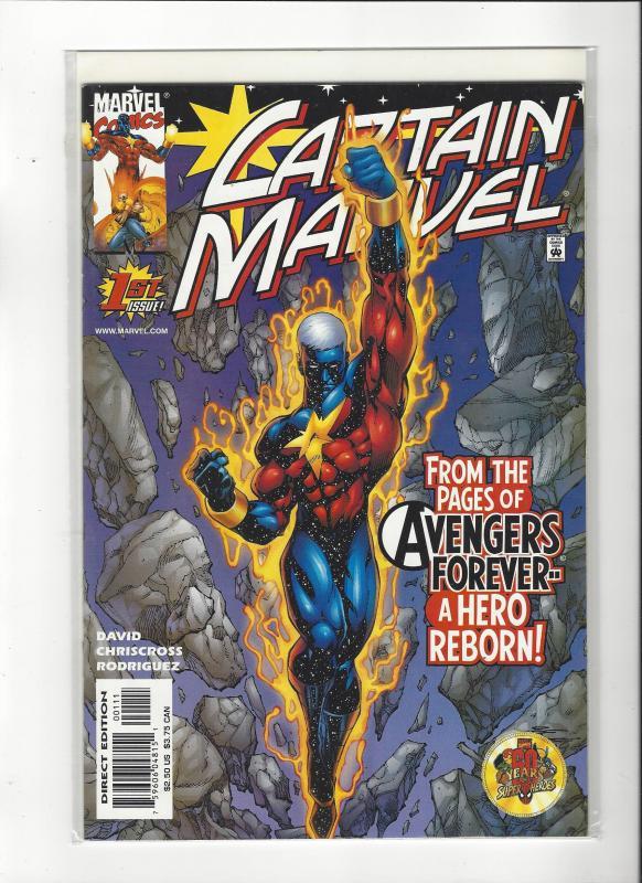 Captain Marvel #1 (2002) Avengers Forever Marvel Comics NM