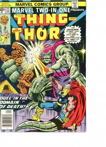 Marvel Two-In-One 23 VG/F  Thor
