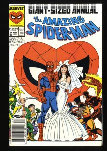 Amazing Spider-Man Annual #21 NM+ 9.6 Wedding of Mary Jane and Peter Parker!
