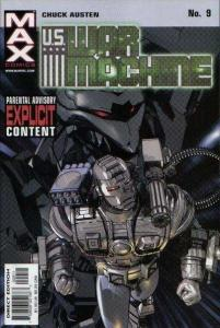 U.S. War Machine #9, NM + (Stock photo)