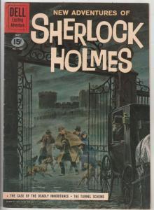Four Color #1169 (Feb-61) FN Mid-Grade Sherlock Holmes, Doctor Watson