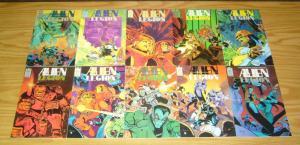 Alien Legion vol. 2 #1-18 VFNM complete series - epic comics - chuck dixon set