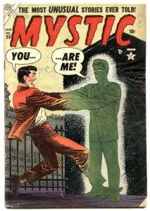 Mystic Comics #35 1954- Atlas horror Golden Age G+