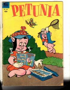Four Color # 463 VG/FN Dell Golden Age Comic Book Petunia Porky Pig Looney T JL7