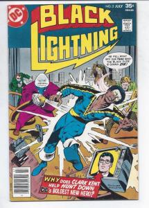 BLACK LIGHTNING #3, VF/NM, Bronze age, Isabella, 1977, more DC in store
