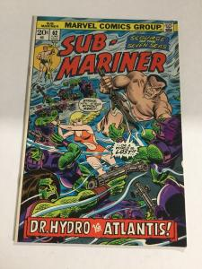 Sub-Mariner 62 Nm Near Mint Marvel Comics