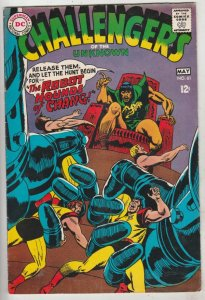 Challengers of the Unknown #61 (May-68) VF High-Grade Challengers of the Unkn...