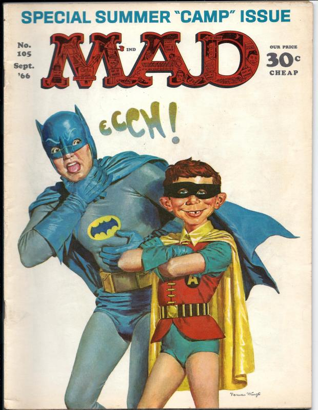 Mad No. 105, , Sept, 1966 (FN)