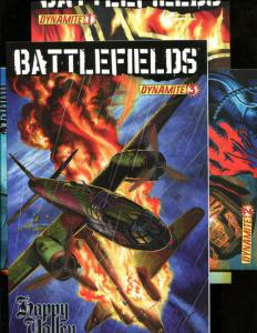 BATTLEFIELDS - HAPPY VALLEY #1 2 3, VF+, Garth Ennis, War, 2009, more in store