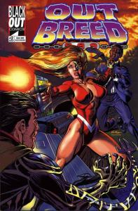 Outbreed 999 #2 VF/NM; Blackout | save on shipping - details inside