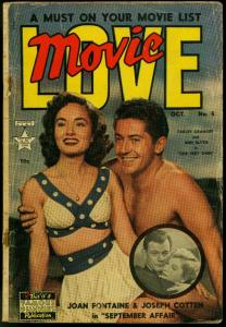 Movie Love #5 1950- Famous Funnies- Joseph Cotton- Ann Blyth FAIR