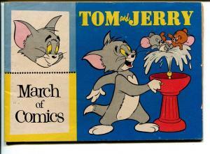 March of Comics #145 1956-K.K.Pubs-Tom & Jerry-FN