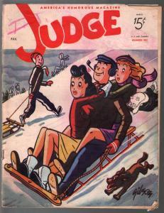 Judge 3/1945-jokes & cartoons- WWII era issue-E S Campbell-James Gibson-FR