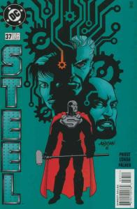 Steel #37 VF/NM; DC | save on shipping - details inside