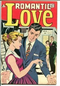 Romantic Love #3 1950's-IW-spicy art-Manny Stallman-FN-