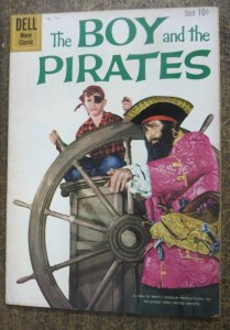 DELL FOUR COLOR #1117 (Dell, 1960) VG+ The Boy and The Pirates Photo Cover!