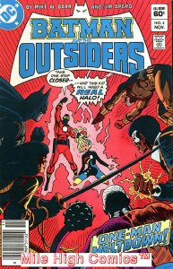 BATMAN AND THE OUTSIDERS (1983 Series)  (DC) #4 NEWSSTAND Very Fine Comics Book