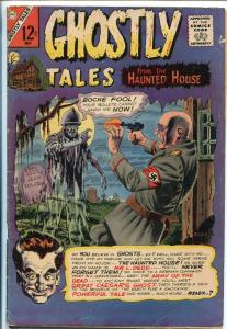 GHOSTLY TALES #55 1966-CHARLTON-1ST DR GRAVES-NAZI HORROR-1ST ISSUE-DITKO-vg