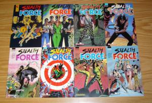 Stealth Force #1-8 VF/NM complete series - malibu comics - pat olliffe  eternity