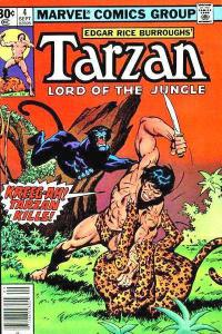 Tarzan (1977 series) #4, Fine+ (Stock photo)