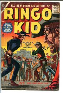 RINGO KID #20 1957-ATLAS-JOE MANEELY-WESTERN-vg