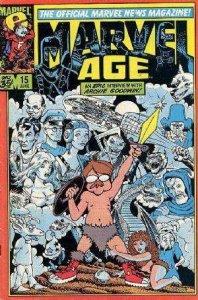 Marvel Age #15, Fine (Stock photo)