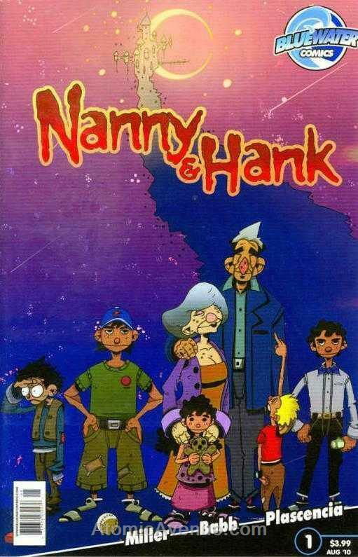 Nanny & Hank #1A VF/NM; Bluewater | save on shipping - details inside
