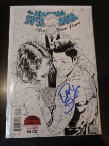 AMAZING SPIDER-MAN: RENEW YOUR VOWS #5 SKETCH VARIANT SIGNED BY DAN SLOTT WITH C