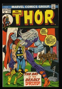 Thor #209 VF+ 8.5 Marvel Comics 1st Ultimus!