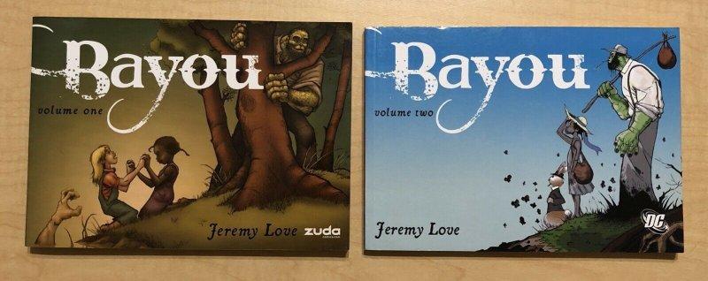 Bayou TPB Lot #1-2 Complete DC Comics Series JEREMY LOVE
