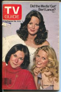 TV Guide 2/18/1978-Charlies Angels-Tampa Bay Edition-VG