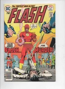 FLASH #246,  FN, Kill, Murder, Neal Adams, 1977, more in store, DC