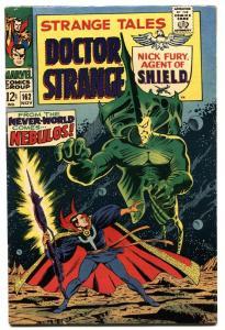 STRANGE TALES #162 MARVEL FN comic book 1967-NICK FURY/DR. STRANGE