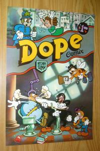 Dope Comix poster 1 - 24 x 16 -  Leslie Cabarga  - underground comix