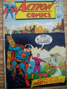 Action Comics 412 F/VF