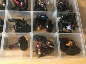 Independent Heroclix 68 figures INDY Ashley Tomoe Witchblade Hellboy Figure MFT4