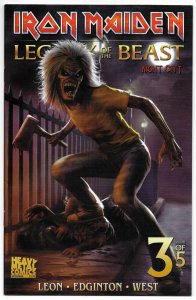 Iron Maiden Legacy Of The Beast Vol 2 Night City #3 Cvr C (2019) VF/NM