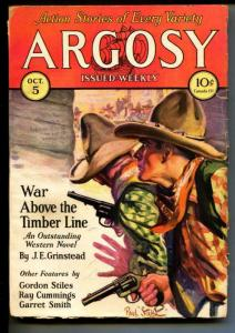 Argosy-Pulp-10/5/1929-C. V. Trench-Gordon Stiles-Ray Cummings