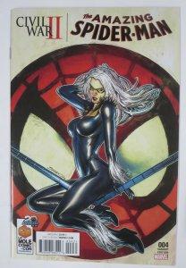 AMAZING SPIDER-MAN #4 (Marvel,11/2016) La Mole Comic Con Variant VF-NM/+