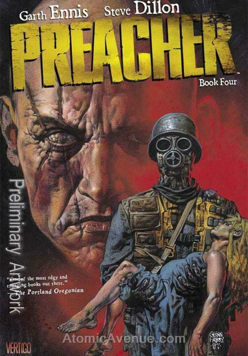 Preacher Deluxe #4 VF/NM; DC/Vertigo | save on shipping - details inside