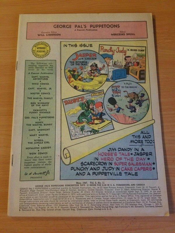 George Pal's Puppetoons #11 ~ NO COVER ~ (1947, Fawcett Comics)