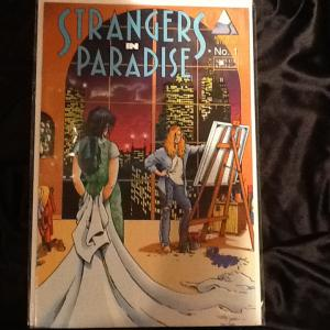 Strangers in Paradise; 1-53 (missing 12 and 18) plus extra's!