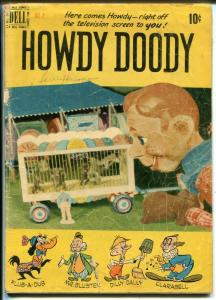Howdy Doody #2 1950-Dell-Based on the TV series-photo cover-G