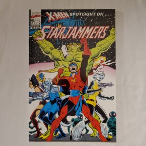X-Men Spotlight on Starjammers 1 Near Mint Art by Dave Cockrum