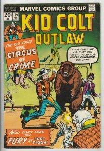 Kid Colt Outlaw # 179 Strict NM- Jack Keller, Wyatt Earp & Doc Holiday story