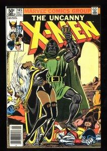 Uncanny X-Men #145 NM- 9.2 Doctor Doom!