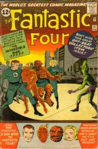 Fantastic Four #11 (ungraded) stock photo / SCM
