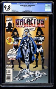 Galactus the Devourer #5 CGC NM/M 9.8 White Pages