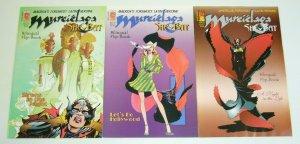 Murcielaga, She-Bat vol. 2 #1-3 FN/VF complete series - bilingual latin heroine