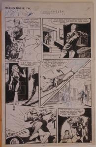 JOHN CELARDO original art, RANGERS COMICS #30, pg 41, Tiger-Man, 1946